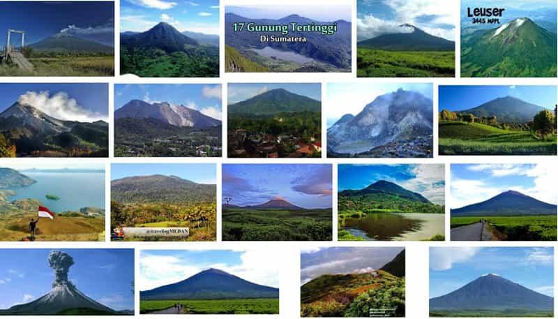 bisnis gunung sumatera