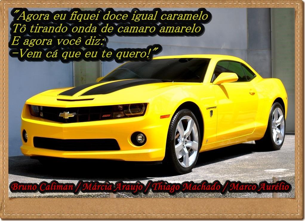 doce doce camaro amarelo