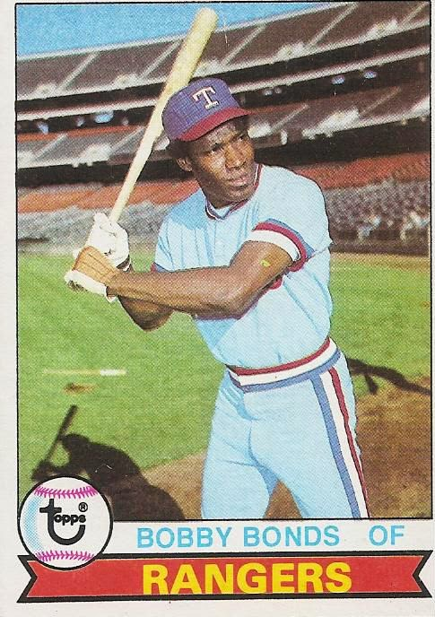 Texas Rangers Cards 1979 Topps Bobby Bonds