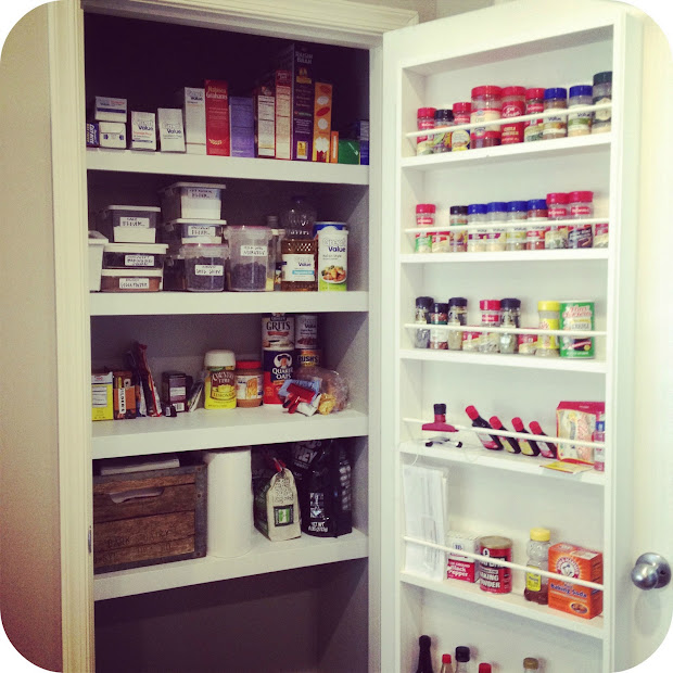 Kitchen Pantry Door Spice Racks
