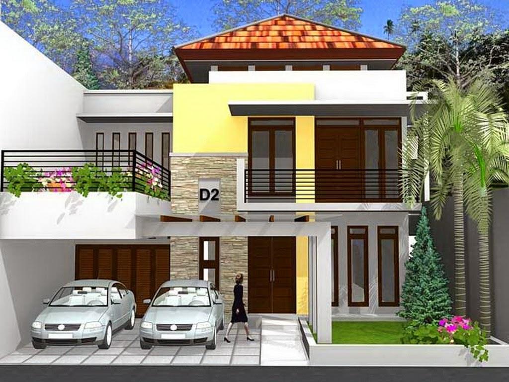 Rumah 2 Tingkat Desain Minimalis