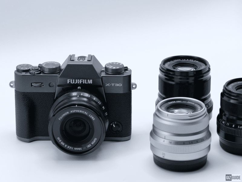 Fujifilm X-T30 and XF 16 f/2.8 WR Lens are now official!