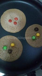 Pancake sarapan darurat