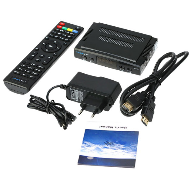 Freesat V7 DVB-S2 / MPEG-4, FullHD Satellite Receiver