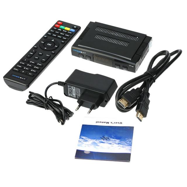 Freesat V7 DVB-S2 / MPEG-4, FullHD Satellite Receiver