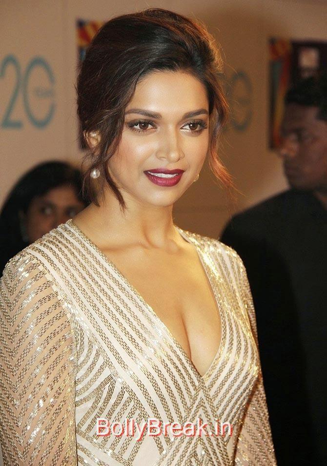 Deepika Padukone, Bollywood Actresses Lipstick Styles - Red, Pink, Nude