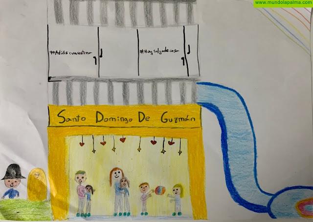 Los menores muestran su creatividad e ilusión al expresar cómo imaginan la vuelta al colegio