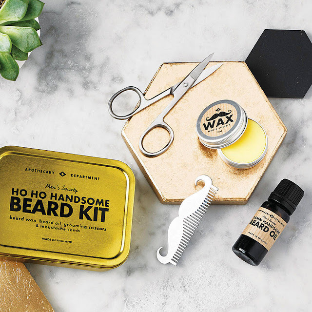 Men's Society Beard Kit