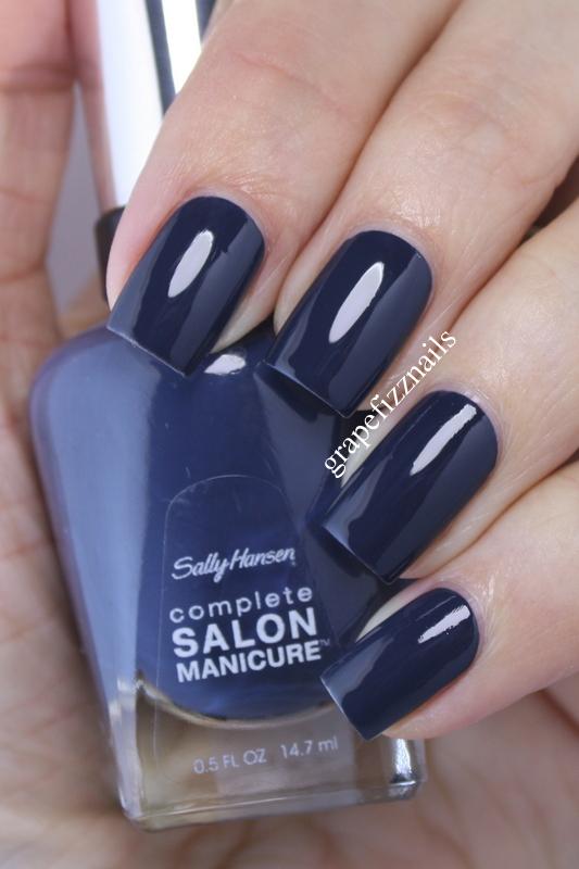 grape fizz nails sally hansen complete salon manicure. Black Bedroom Furniture Sets. Home Design Ideas
