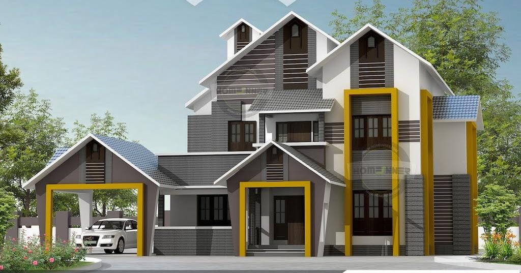 Indian Villa Designs Exterior Photos Of 2400 Sqft 4 Bhk