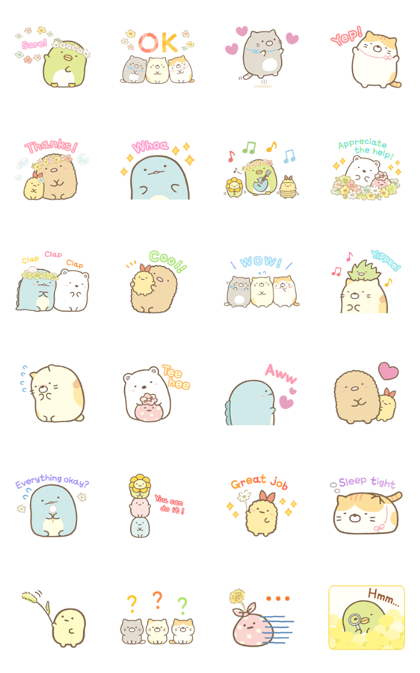 Sumikko Gurashi Everyday Stickers