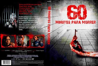 Filme 60 Minutos Para Morrer (Escape Room) DVD Capa