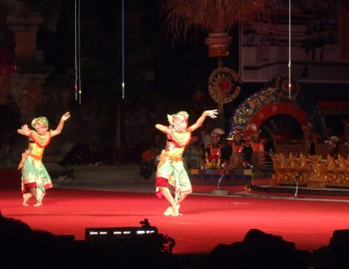 This trip the lite fantastic emerges along amongst the Tari Tenun  BaliBeaches: Tari Tani Bali - The Farming Dance of Bali