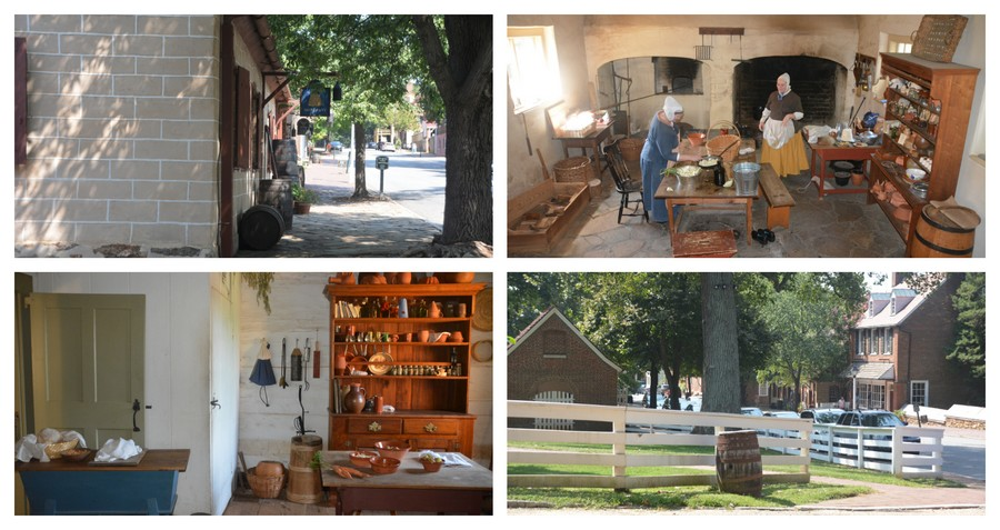 Visite d'Old Salem