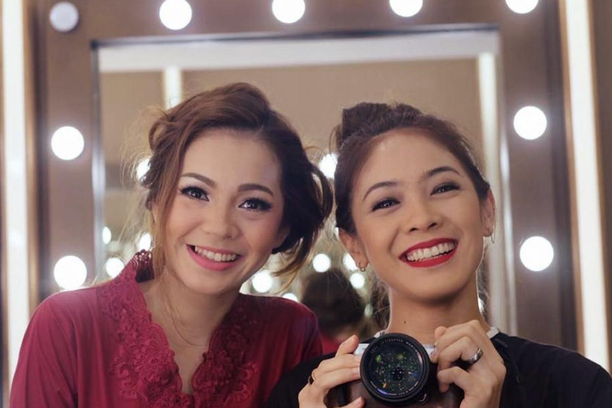 Maya Septa Dan Dian Ayu presenter kembar seksi dan manis