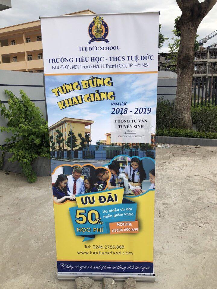 Thông tin tuyển sinh năm học 2018-2019 trường liên cấp Tuệ Đức Thanh Hà