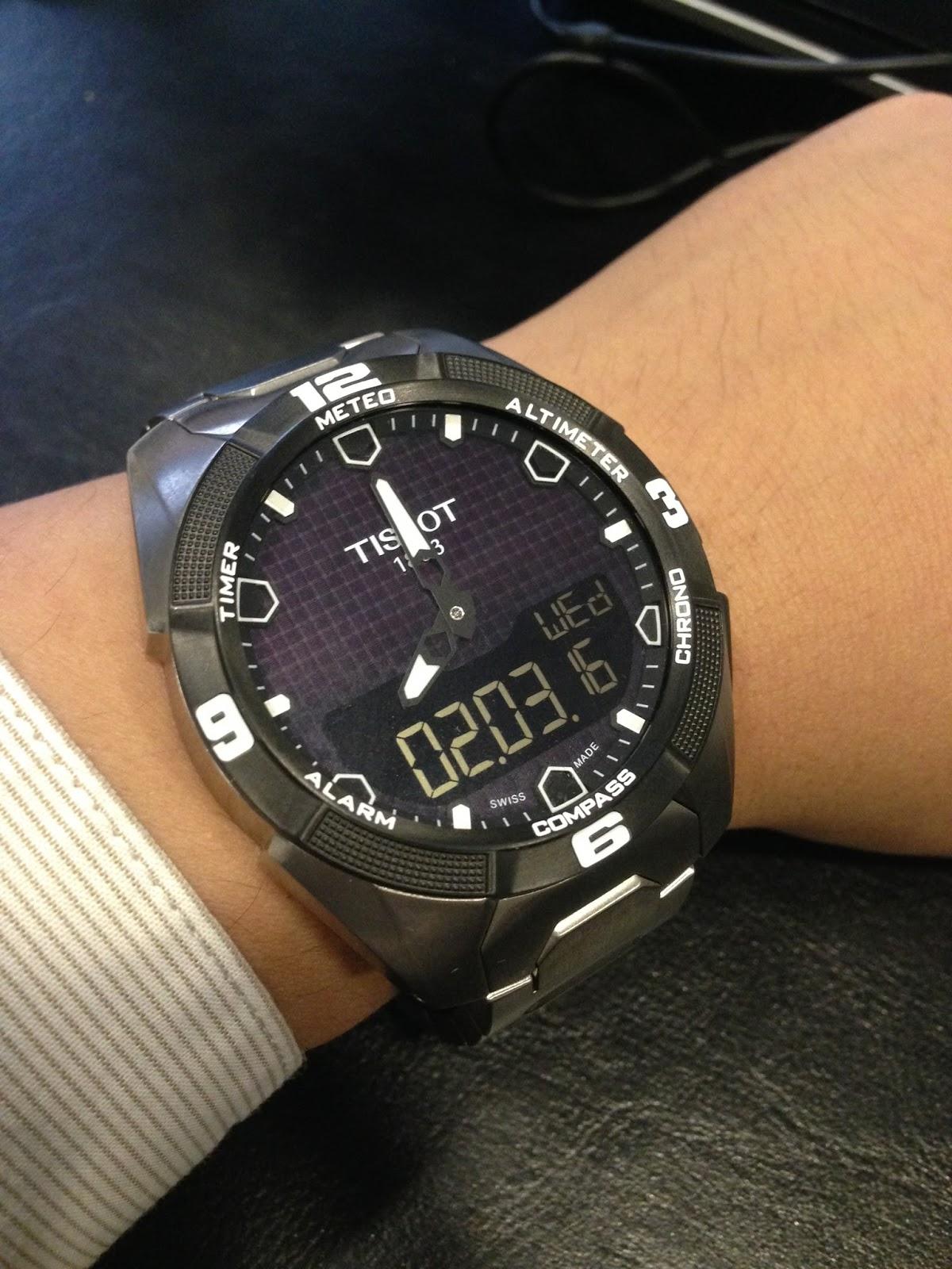 my western watch collection tissot t touch expert solar titanium rh westernwatch blogspot com tissot t touch expert manual tissot touch expert manuel