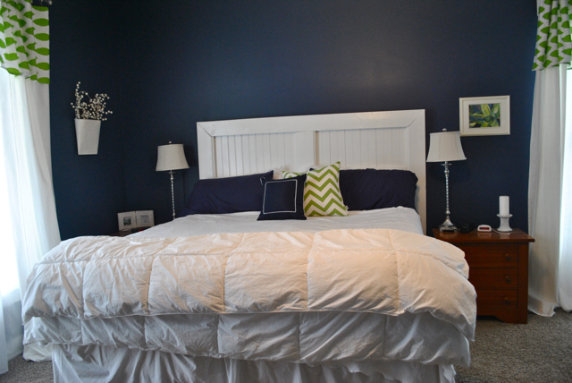 New Every Morning Farmhouse Master Bedroom