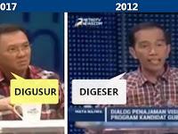 "VIDEO KOCAK ""Perseteruan"" Jokowi vs Ahok seputar ""DIGESER"" vs ""DIGUSUR"""