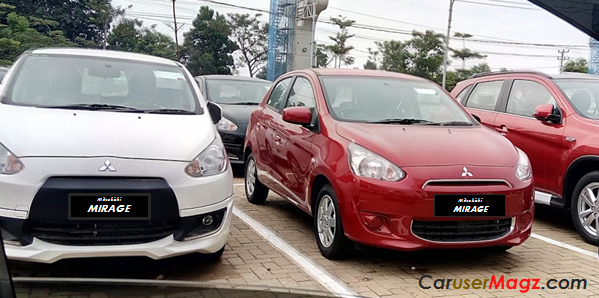 Mitsubishi Mirage Indonesia 2012 - 2015