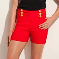 Pantaloni scurti cu platca Top Studio pentru femei