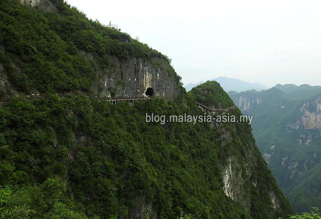 Yunyang Moon Cave Chongqing