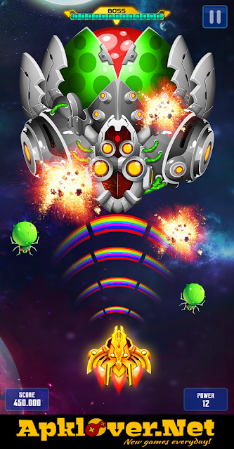 Space Shooter : Galaxy Attack MOD APK unlimited money & premium