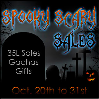 Spooky Scary Sales