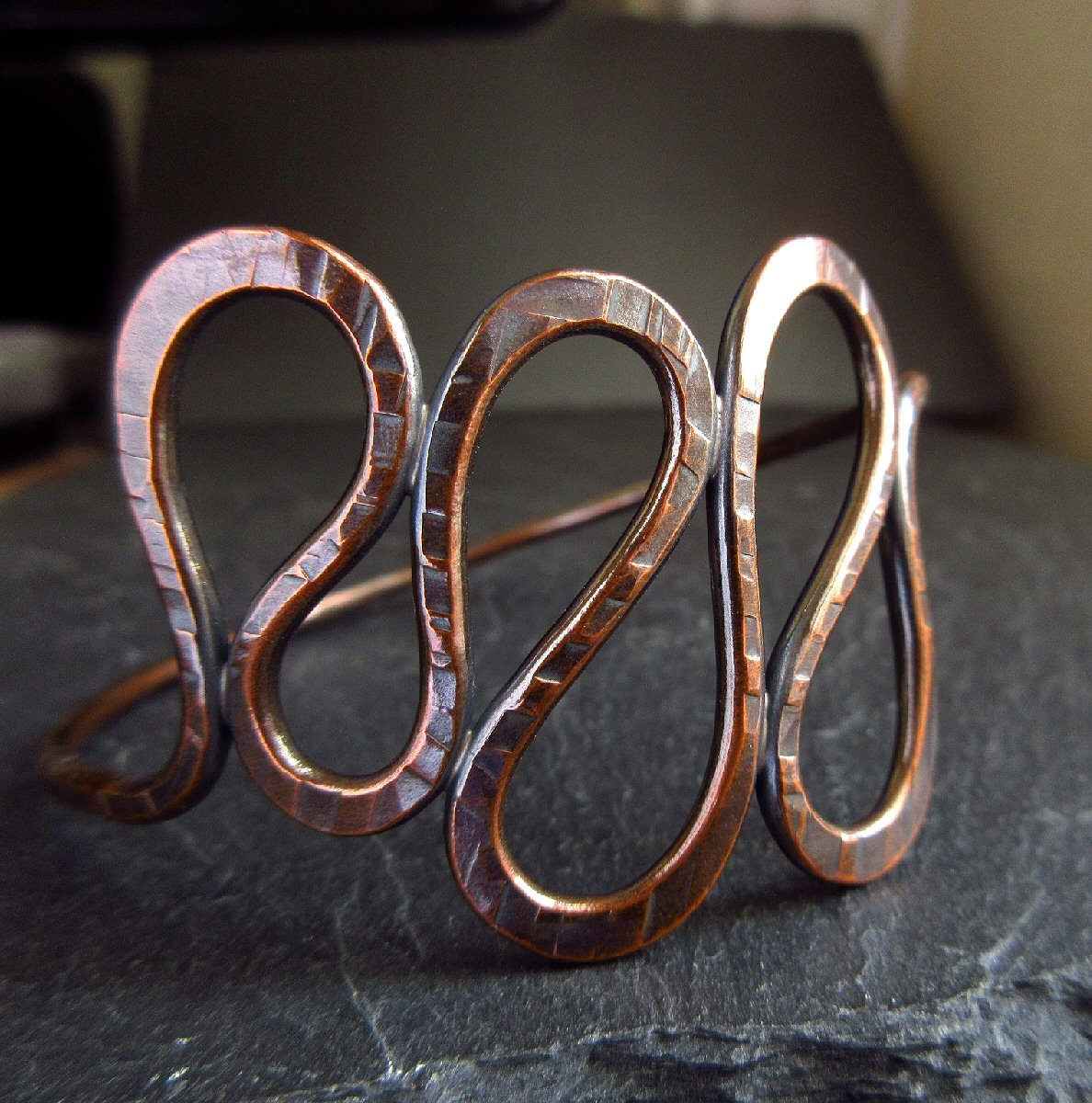 A New Copper Loop Bangle And How I Made It