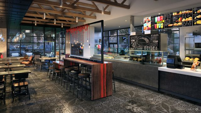 Taco Bell S New Restaurant Designs Look Warmer And More
