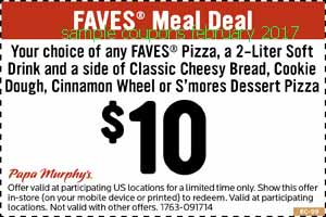 free Papa Murphys coupons for february 2017