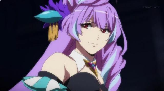 Karakter Anime Perempuan Berambut Ungu Terbaik dan Tercantik - Mikumo Guynemer (Macross Δ)