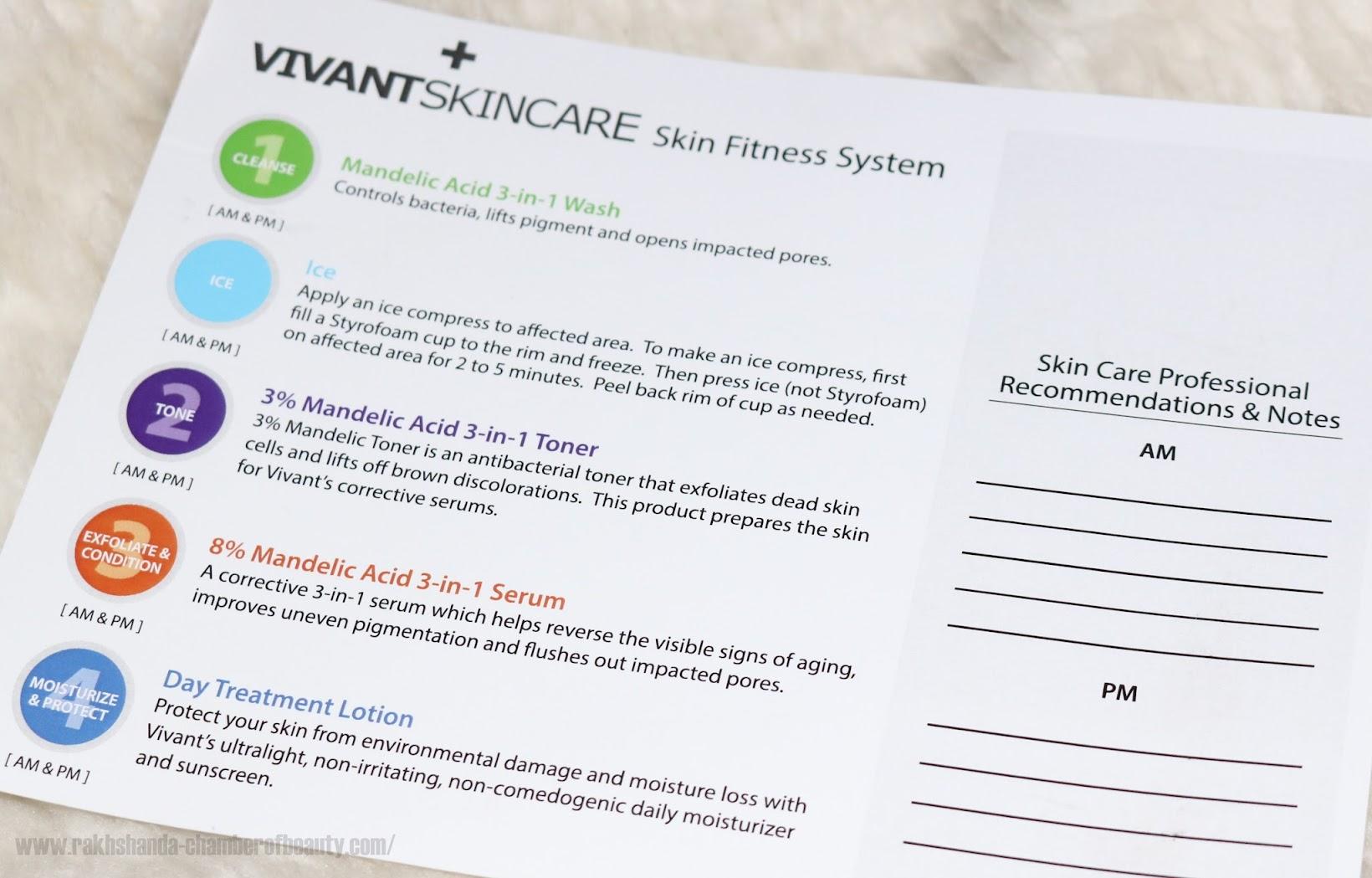 Vivant Skincare Skin Fitness System review