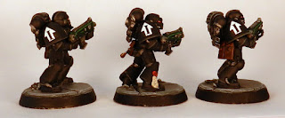 Raven Guard tactical Squad bolters