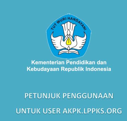 gambar petunjuk penggunaan Aplikasi AKPK Kepsek 2016