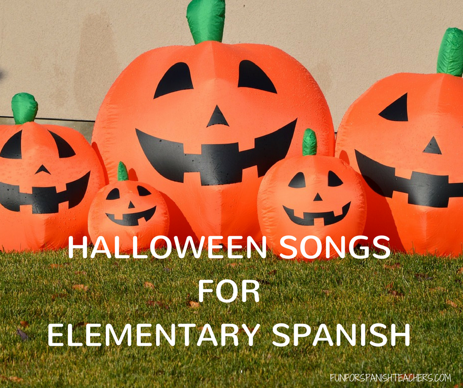 cinco calabazas Archives FunForSpanishTeachers