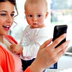 Aplicaciones smartphone madres modernas