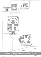 Plan of Boggo Road Gaol layout, c.1910