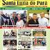 Acontecerá hoje o lançamento do Informativo Santa Luzia do Pará Construindo Uma Nova História