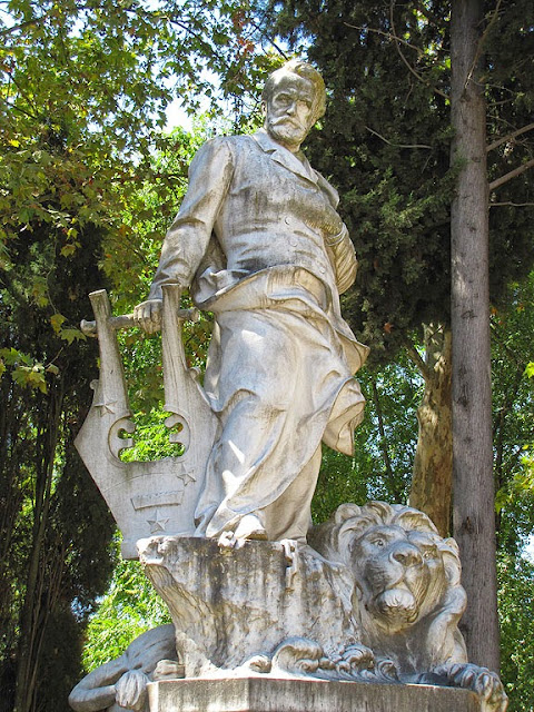 Monument to Victor by Lucien Pallez, piazzale Victor Hugo, Rome