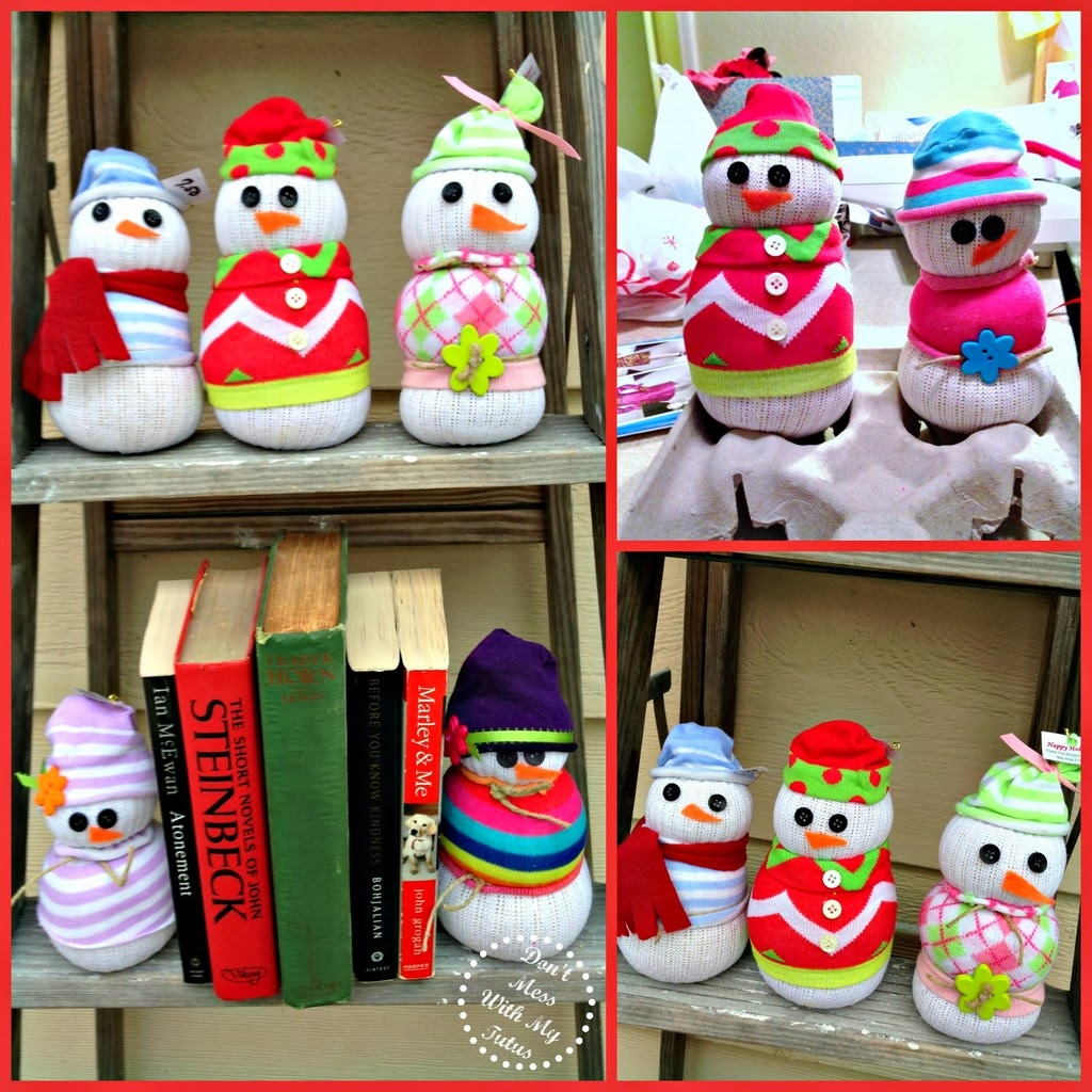 Don't Mess With My Tutus! : Sock Snowmen . . . And Women