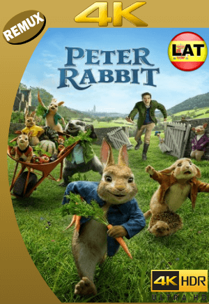 Las Travesuras de Peter Rabbit (2018) Latino Ultra HD BDREMUX​ 4k [GoogleDrive]