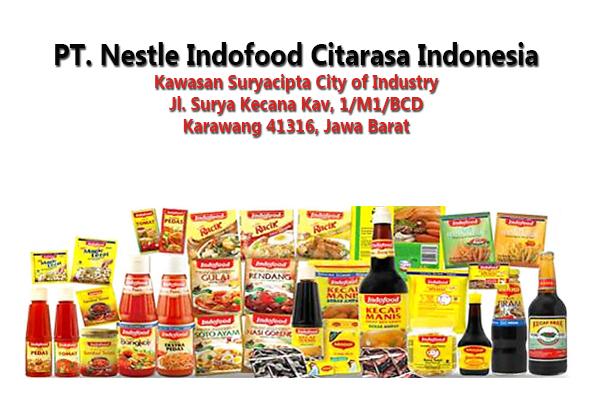 Lowongan Kerja Terbaru PT Nestle Indofood Citarasa Indonesia