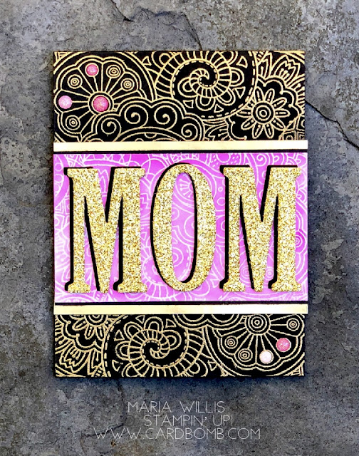 #cardbomb, #mariawillis, #stampinup, #cards, #stamps, #ink, #paper, #watercolor, #mom, #handmade, #creative, #craft, #papercraft,