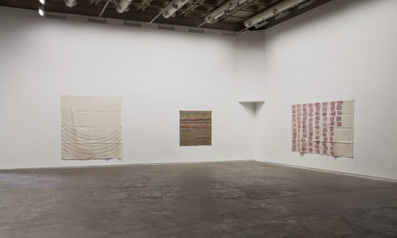 Giorgio Griffa at The Douglas Hyde Gallery