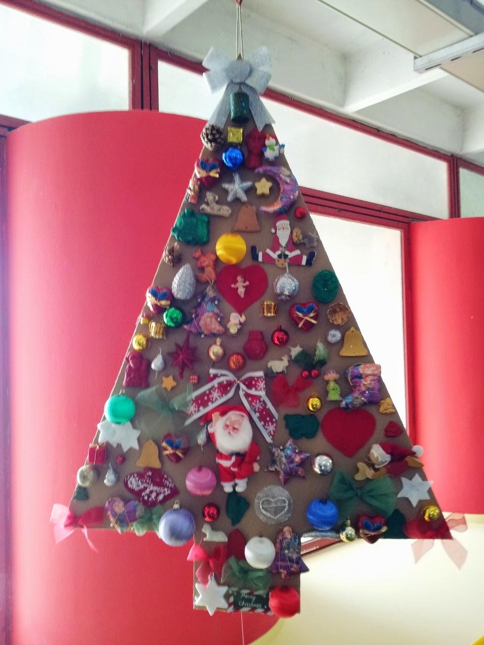 Kreattiva Lavoretti Di Natale.Albero Di Natale 2014
