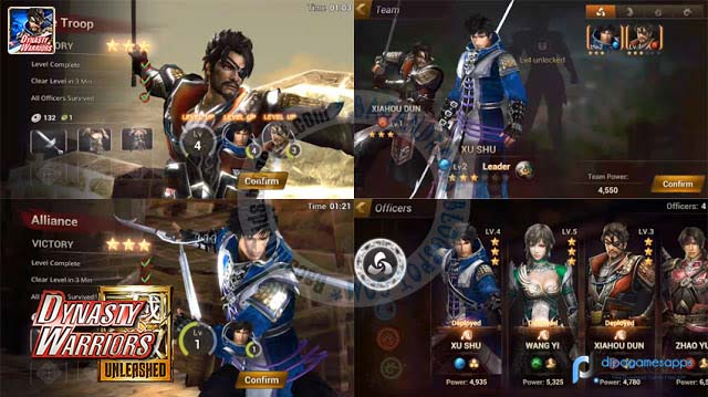 Dynasty Warriors Unleashed APK Hack Modded
