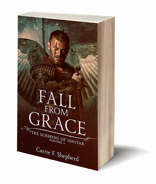 "Blog Tuor ""Fall From Grace: The Scribing of Ishitar"" by Carrie F. Shepherd - Characters interviews, Guest post, Interview, Giveaway,"