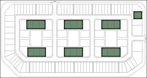 Vị trí xây dựng Biệt thự Embassy Garden - Mẫu thiết kế biệt thự số 2