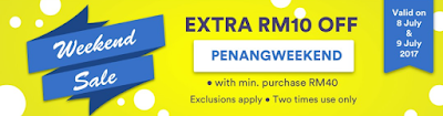 Fave Promo Code Malaysia Weekend Sale